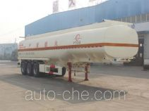 Jinwan LXQ9403GRY flammable liquid tank trailer
