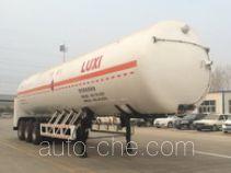 Luxi LXZ9360GDY cryogenic liquid tank semi-trailer