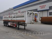 Luxi LXZ9360GGY high pressure gas long cylinders transport trailer