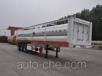 Luxi LXZ9380GGY high pressure gas long cylinders transport trailer