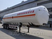 Luxi LXZ9381GDY cryogenic liquid tank semi-trailer