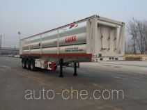 Luxi LXZ9390GGY high pressure gas long cylinders transport trailer