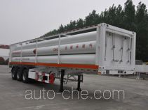 Luxi LXZ9402GGY high pressure gas long cylinders transport trailer