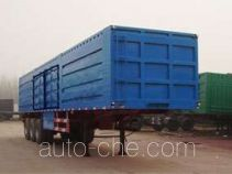 Jinyue LYD9320XXY box body van trailer
