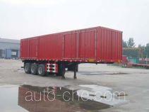 Jinyue LYD9321XXY box body van trailer