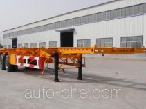 Jinyue LYD9351TJZ container transport trailer