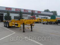 Jinyue LYD9400TWY dangerous goods tank container skeletal trailer