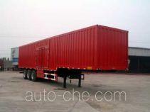 Jinyue LYD9402XXY box body van trailer