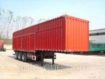 Jinyue box body van trailer