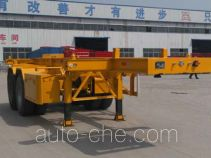 Liangfeng LYL9350TWY dangerous goods tank container skeletal trailer
