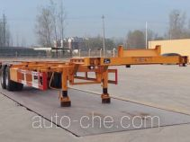 Liangfeng LYL9352TWY dangerous goods tank container skeletal trailer
