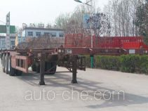 Liangfeng LYL9400TWY dangerous goods tank container skeletal trailer