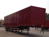 瑞图牌LYT9401XXY型厢式运输半挂车