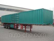 瑞图牌LYT9402XXY型厢式运输半挂车