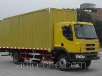 乘龙牌LZ5121XXYRAPA型厢式运输车