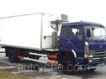 Chenglong LZ5132XBXMD15L refrigerated truck