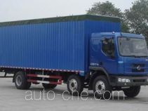 Chenglong LZ5160XXYPRCM soft top box van truck