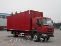 乘龙牌LZ5161XXYM3AA型厢式运输车
