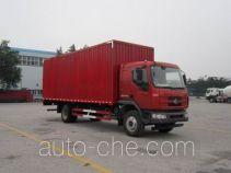 Chenglong LZ5165XXYM3AA box van truck