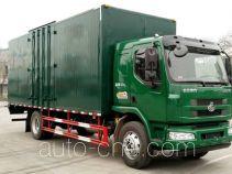 乘龙牌LZ5167XXYM3AB1型厢式运输车