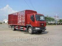乘龙牌LZ5181CCQM3AB型畜禽运输车