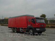 Chenglong LZ5230XXYPQDL soft top box van truck