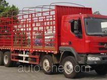 乘龙牌LZ5244CCQREL型畜禽运输车