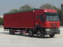 Chenglong LZ5250CPYM5CA soft top box van truck