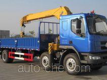 乘龙牌LZ5250JSQM3CA型随车起重运输车
