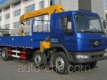 Chenglong LZ5250JSQRCM truck mounted loader crane