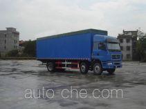 Chenglong LZ5250XXYPPCS soft top box van truck