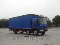 Chenglong LZ5250XXYPRCS soft top box van truck