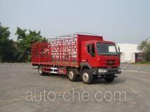 乘龙牌LZ5251CCQM3CB型畜禽运输车