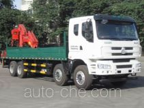 Chenglong LZ5310JSQM5FB truck mounted loader crane