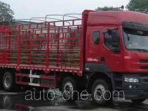 乘龙牌LZ5311CCQQELA型畜禽运输车