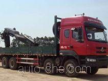 乘龙牌LZ5311JSQQELA型随车起重运输车