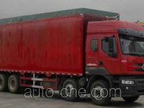 Chenglong LZ5312CPYQEL soft top box van truck