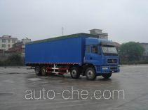 Chenglong LZ5313XXYPPEL soft top box van truck