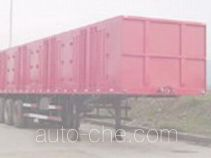 Chenglong LZ9390XXY box body van trailer
