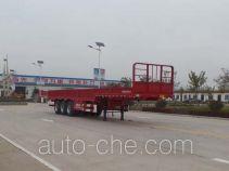 鲁旭达牌LZC9400E型栏板式运输半挂车