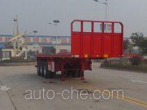 鲁旭达牌LZC9400TPB型平板运输半挂车