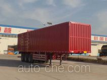 Luxuda LZC9402XXY box body van trailer