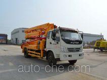 迅力牌LZQ5161THB型混凝土泵车