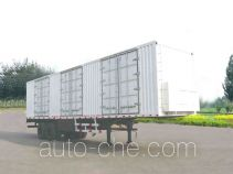 Xunli LZQ9270XXY box body van trailer
