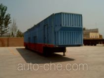 Vehicle transport trailer