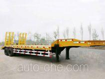 迅力牌LZQ9330TDP型低平板半挂车