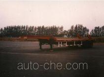 迅力牌LZQ9340TDP型低平板半挂车