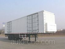 Xunli LZQ9340XXY box body van trailer