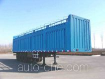 Xunli LZQ9390RDXY soft top box van trailer