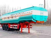 迅力牌LZQ9396GYY型运油半挂车